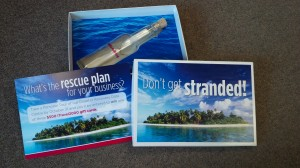 Don't Get Stranded - Dimensional Direct Mail Campaign